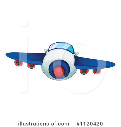 Plane Clipart #1120420 by Graphics RF
