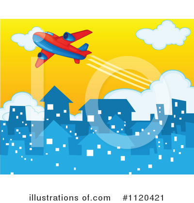 Plane Clipart #1120421 by Graphics RF