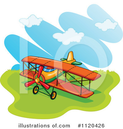 Plane Clipart #1120426 by Graphics RF