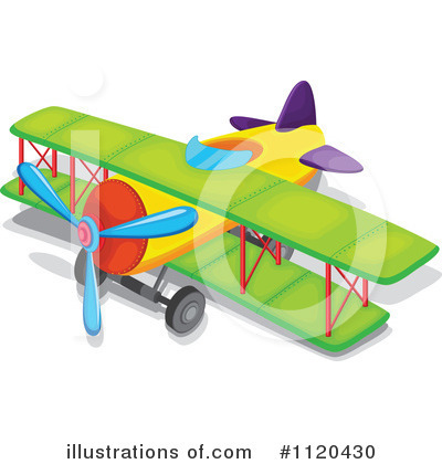 Plane Clipart #1120430 by Graphics RF