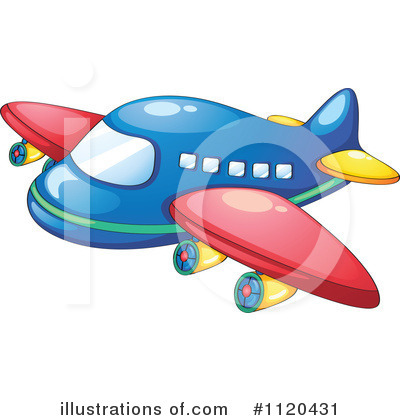 Plane Clipart #1120431 by Graphics RF
