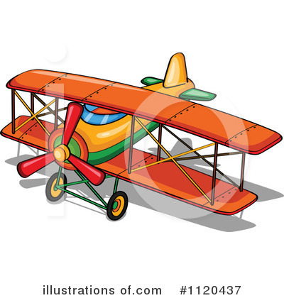 Plane Clipart #1120437 by Graphics RF