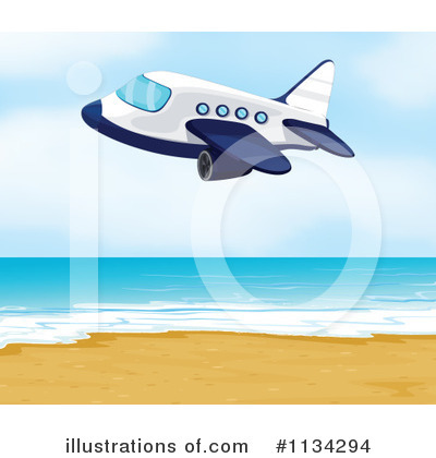 Plane Clipart #1134294 by Graphics RF