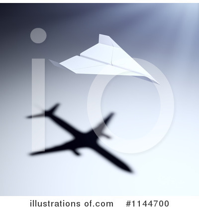 Airplane Clipart #1144700 by Mopic