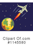 Airplane Clipart #1145580 by patrimonio