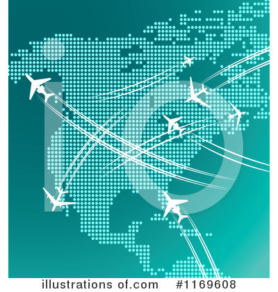 Map Clipart #1169608 by Vector Tradition SM