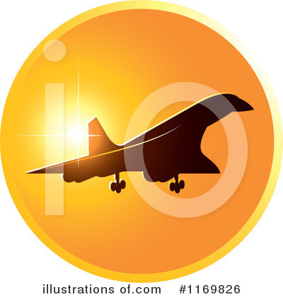 Airplane Clipart #1169826 by Lal Perera