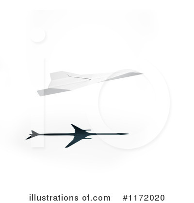 Royalty-Free (RF) Airplane Clipart Illustration by Mopic - Stock Sample #1172020