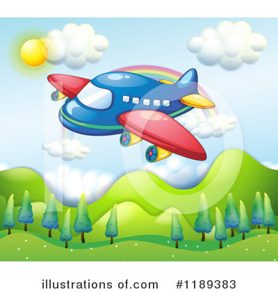 Plane Clipart #1189383 by Graphics RF