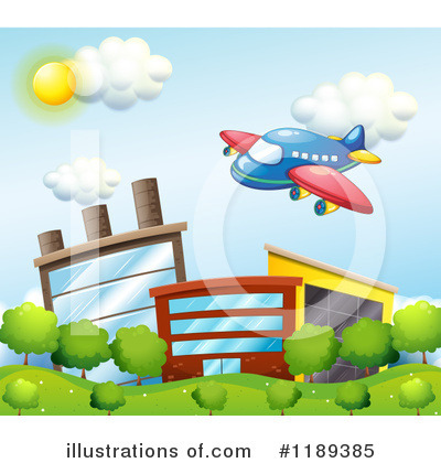Plane Clipart #1189385 by Graphics RF