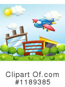 Airplane Clipart #1189385 by Graphics RF