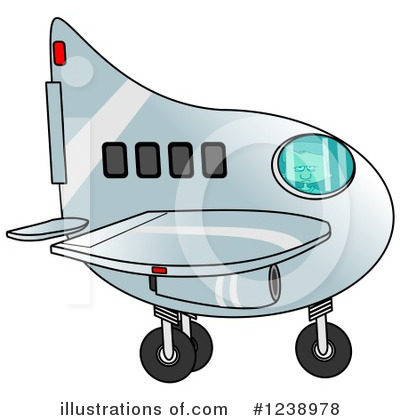 Airplane Clipart #1238978 by djart