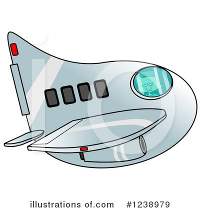 Airplane Clipart #1238979 by djart