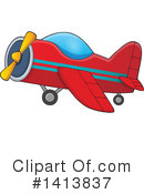 Airplane Clipart #1413837 by visekart