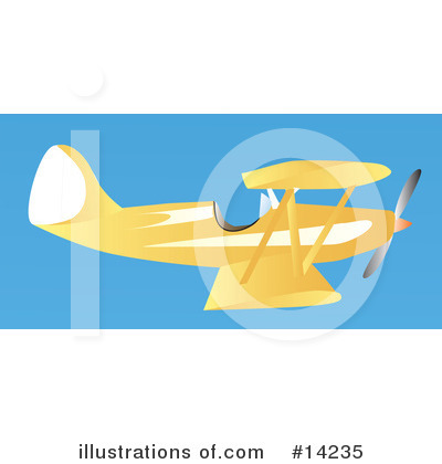 Royalty-Free (RF) Airplane Clipart Illustration by Rasmussen Images - Stock Sample #14235