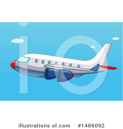 Plane Clipart #1466092 by Graphics RF