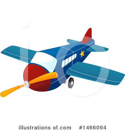 Plane Clipart #1466094 by Graphics RF