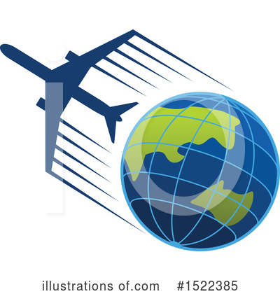 Airplane Clipart #1522385 by Vector Tradition SM
