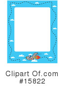 Airplane Clipart #15822 by Andy Nortnik