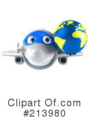 Airplane Clipart #213980 by Julos