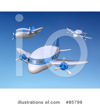 Airplane Clipart #85799 by Mopic