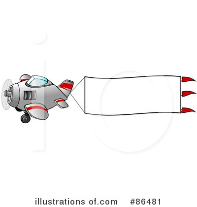 Airplane Clipart #86481 by djart