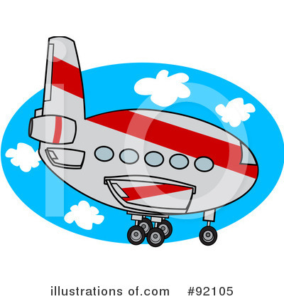 Airplane Clipart #92105 by djart