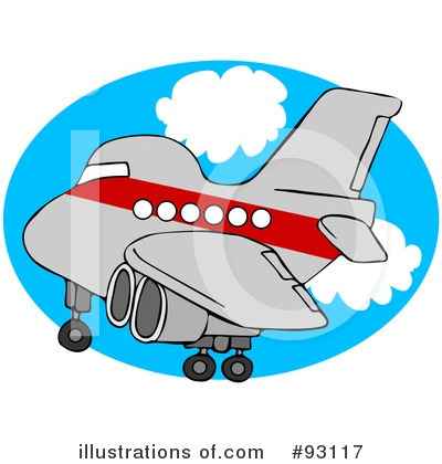 Airplane Clipart #93117 by djart