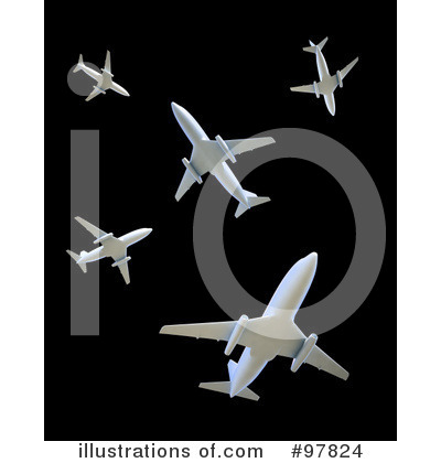 Airplane Clipart #97824 by Mopic