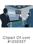 Airport Clipart #1202337 by David Rey