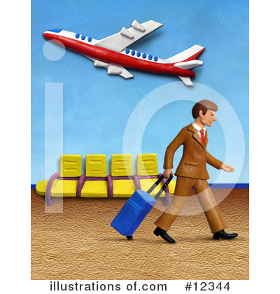 Business Man Clipart #12344 by Amy Vangsgard