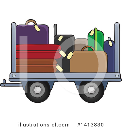 Airport Clipart #1413830 by visekart