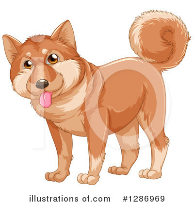 Dog Clipart #1286969 by Graphics RF