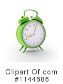 Royalty-Free (RF) Alarm Clock Clipart Illustration #1144686