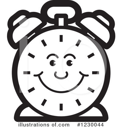 Alarm Clock Clipart #1230044 by Lal Perera