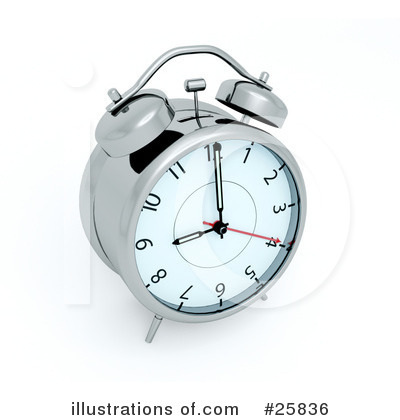 Clock Clipart #25836 by KJ Pargeter