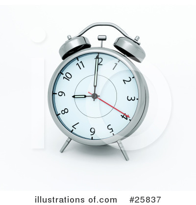 Clock Clipart #25837 by KJ Pargeter