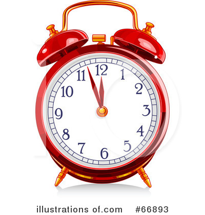 Clock Clipart #66893 by Pushkin