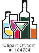 Alcohol Clipart #1184734 by Vector Tradition SM
