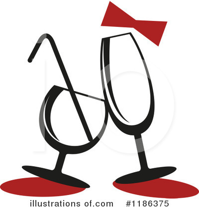 Wine Clipart #1186375 by Vector Tradition SM