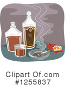 Royalty-Free (RF) Alcohol Clipart Illustration #1255837