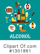 Royalty-Free (RF) Alcohol Clipart Illustration #1301861