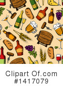 Alcohol Clipart #1417079 by Vector Tradition SM