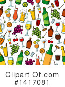 Alcohol Clipart #1417081 by Vector Tradition SM