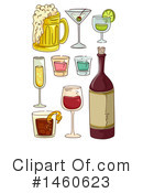 Alcohol Clipart #1460623 by BNP Design Studio
