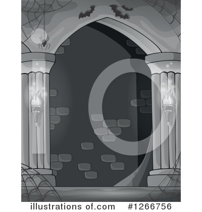 Haunted Hallway Clipart #1266756 by visekart