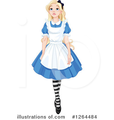 Alice In Wonderland Clipart #1264484 by Pushkin