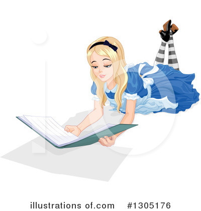 Reading Clipart #1305176 by Pushkin