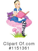 Alice In Wonderland Clipart #1151361 by Pushkin
