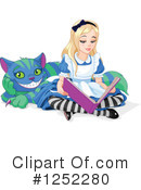 Royalty-Free (RF) Alice In Wonderland Clipart Illustration #1252280